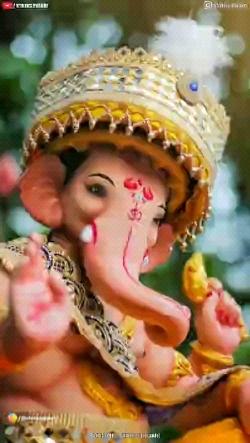Ganpati-Bappa-4k-Full-Screen-Status-Sankashti-Chaturthi